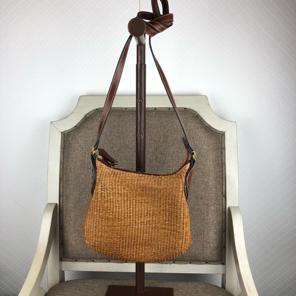 Fossil Handbags - Fossil wicker crossbody